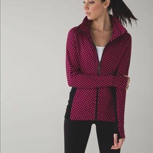 Lululemon Radiant Jacket Scuba size 6